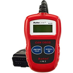 Autel AL301 OBDII/CAN Code Reader Reviews