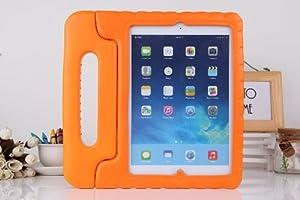 COLJOY Soporte Antichoque Forro Infantil Funda protectora para Apple iPad Air / iPad 5 (Apple iPad Air / iPad 5, naranja)  Electrónica Revisión del cliente y la descripción más