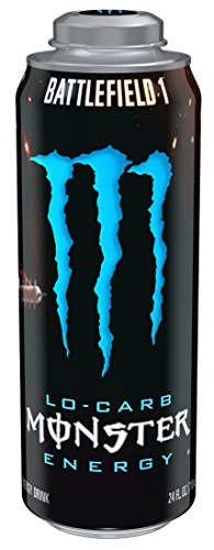 Monster Energy, Lo-Carb, 24 Ounce (Pack of 12) (Monster Energy Mega compare prices)