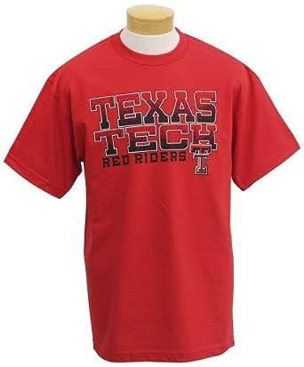 Buy NCAA Texas Tech Red Raiders Acho Short Sleeve T-Shirt by CI Sport