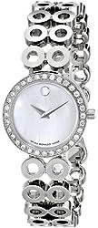 Movado Women's 605777 Ono Due Diamond Accented Watch