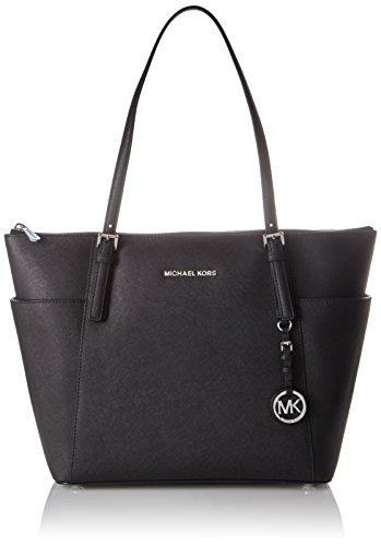 michael-kors-womens-jet-set-large-top-zip-tote-black