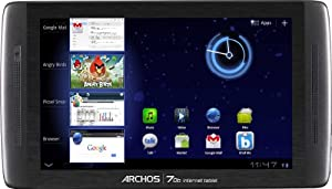 Archos 70b 7 inch Internet Tablet (ARM Coretex A8 1.2 GHz Processor, RAM 512MB, Memory 8GB, Android 3.2)