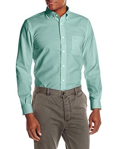 Dockers Men's Long Sleeve Oxford Blend Button Down Shirt
