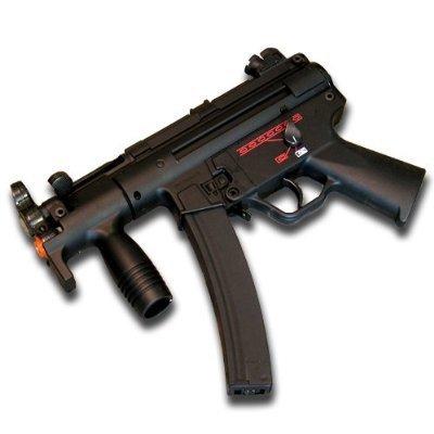 Galaxy Airsoft G5K Electric Gun Mp5K Style Aeg front-478923
