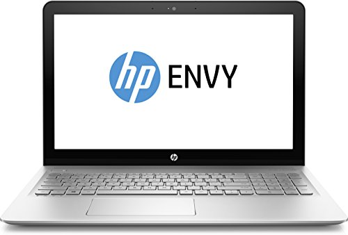 "HP ENVY 15-as003nl Notebook, Intel Core i7-6500U, RAM 16 GB, Hard Disk 1 TB + SSD 128 GB, Scheda Grafica Intel HD, Display Full HD 15.6"" WLED, Argento"