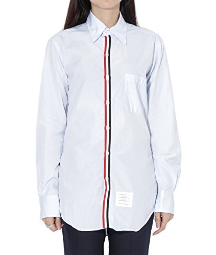 wiberlux-thom-browne-womens-striped-placket-buttoned-collar-shirt-1-blue