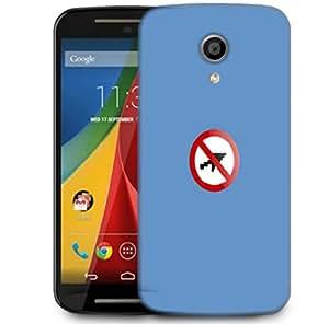 Snoogg No Cursor Designer Protective Phone Back Case Cover For Motorola G 2nd Genration / Moto G 2nd Gen