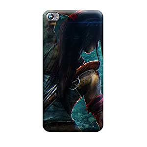 Ebby Premium Printed Mobile Back Case Cover With Full protection For Micromax Canvas Fire 4 A107 (Designer Case)