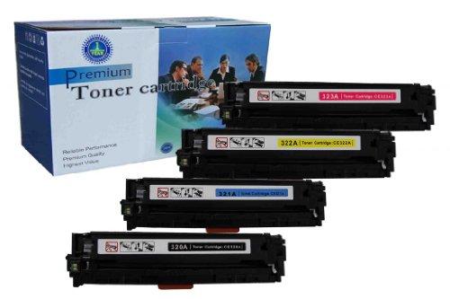 4 Pack V4INK ® New Compatible HP CE320A CE321A CE322A CE323AToner Cartridge for HP Color LaserJet CP1521n/CP1522n/CP1523n/CP1525n/CP1525nw/CP1526nw/CP1527nw/CP1528nw/CM1415fn/CM1411fn/CM1412fn/CM1413f