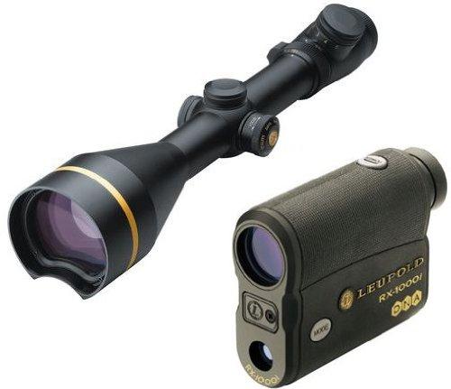 Leupold Vx-3L 4.5-14X56Mm Riflescope, S.F. Cds, Matte Black, Duplex W/ Leupold Tbr 115241-Kit1