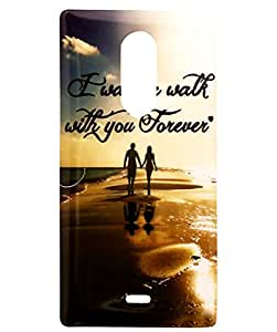 Soft Fancy Back Cover For Micromax Canvas Selfie 4 Q349 - Forever Print