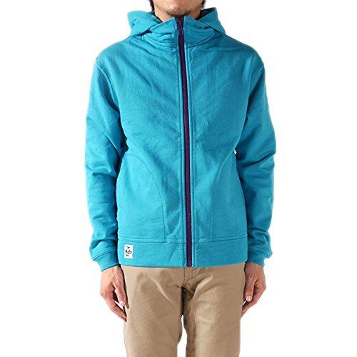 CHUMS チャムス フルジップ フード スウェットジャケット Full Zip Hooded Jacket II CH00-0675 スウェット スエット ジップアップ パーカー 長袖 メンズ 正規取扱品 (M, 6.Blue(7526))