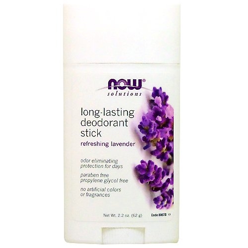 海外直送品 Now Foods Long Lasting Deodorant Stick, Long Lasting 2.2 OZ