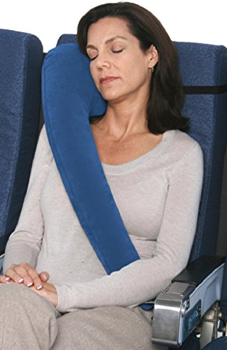 Travelrest – Ultimate Travel Pillow #1 Best Seller – Ergonomic, Innovative & Patented – BEST Travel Pillow for Airplanes, Cars, Buses, Trains, Office Napping, Camping, Wheelchairs & Home (Ranked #1 by WSJ)