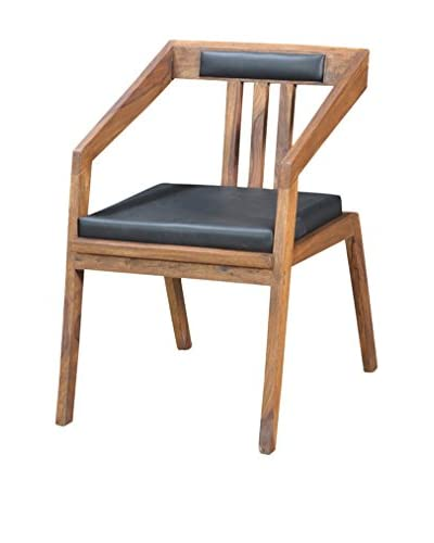 CDI Furniture Metropolitan Collection Dining Chair, Brown