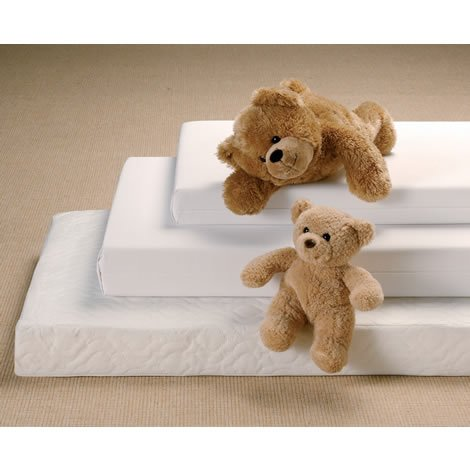 Traditional Superior Sprung Cot Bed Mattress 10cm Thick 140 x 70 cm (Baby Product)
