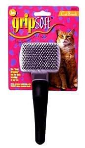JW Pet Company GripSoft Cat Slicker Brush, Small