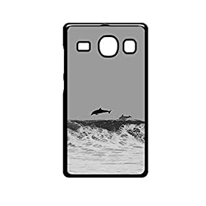 Vibhar printed case back cover for Samsung Galaxy J5 Dolphin
