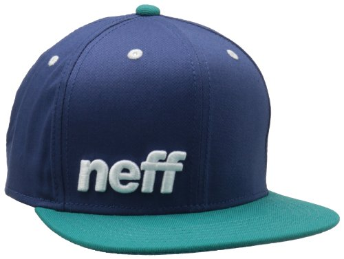 neff Men's Daily Cap, Blue/Teal/White, One Size