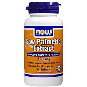 Saw Palmetto Extract 320mg Now Foods 90 Veg Softgel