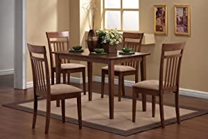 Coaster 5-Piece Dining Set in Walnut