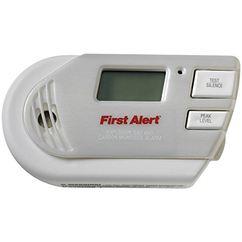 First Alert GCO1CN Plug In Combination Explosive Gas/Carbon Monoxide Alarm with Battery Backup (Gas Detector compare prices)