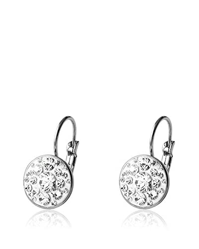 Bohemian Love Story Pendientes Round Crystal