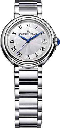 Maurice Lacroix Fiaba Round FA1004-SS002-110 Reloj de Pulsera para mujeres muy elegante