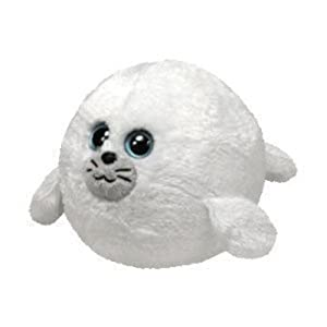 Ty Beanie Ballz Seymour Plush - Seal, Large