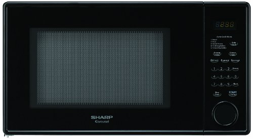 Sharp R-309YK Microwave (1.1 cu.ft.), Black, Standard (Sharp R309yk compare prices)