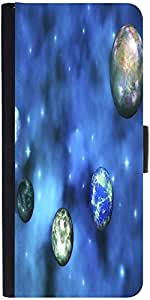 Snoogg Cosmic Visualization Designer Protective Phone Flip Case Cover For Htc Desire 526G Plus
