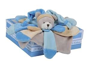 Doudou et Compagnie Doudou Collector Ours Bleu Poudré