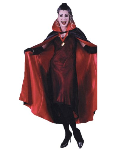 Cape 56in Deluxe Red Halloween Costume - 56 Inches