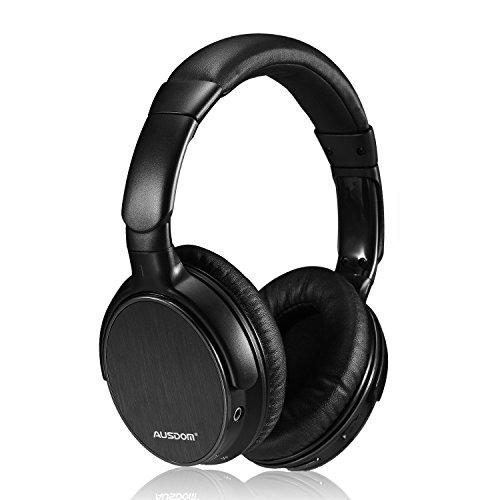 AUSDOM ワイヤレス ステレオ ヘッドホン ブルートゥース ヘッドフォン Bluetooth機能付き 密閉ダイナミック型 M06