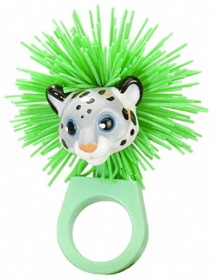 Snow Leopard Foozels Ring