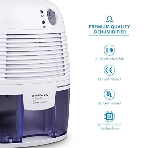 Mini Air Dehumidifier Patuoxun 500mL pact and