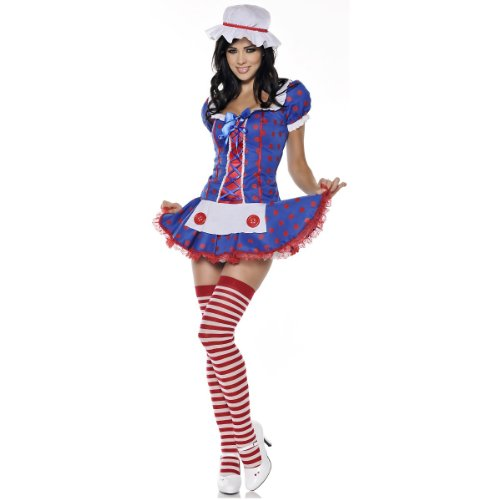 Rag Doll Costume - Medium - Dress Size 6-8