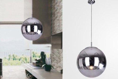 sale nilight tm new modern chrome glass mirror ball ceiling light