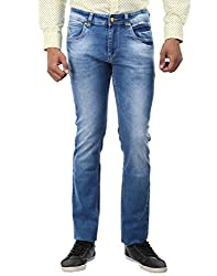 Oxemberg Slim Fit Men's Sapphire Blue Denim
