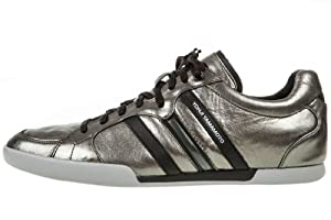 adidas Y-3 Sala by Yohji Yamamoto Men's Shoes Gun Metal/Black/Running White Q35260 (SIZE: 9)