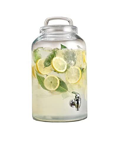 Home Essentials Heritage Home 2.25-Gal. Beverage Dispenser With Looped Lid