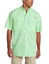 Columbia Men\'s Bonehead Short Sleeve Shirt, Key West, X-Large