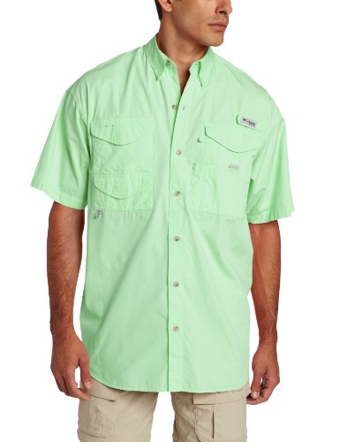 Columbia Men's Bonehead Short Sleeve Shirt, Key West, XX-Large