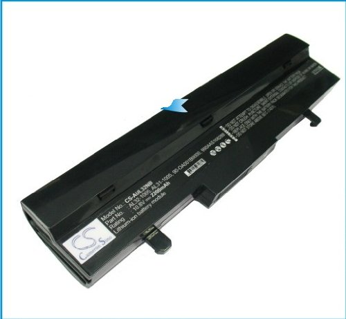 Ersatz Laptop Akku 2200mAh f&#252;r Asus Eee PC 1001HA 1005 1005HA 1005PE R101 R105 R1001PXR R1005PX/ AL32-1005 AL31-1005 90-OA001B9000 990AAS168288 0B20-00KA0AS PL32-1005 90-OA001B9100 TL31-1005 PL31-1005 ML32-1005 ML31-1005 70-OA1B1B2100