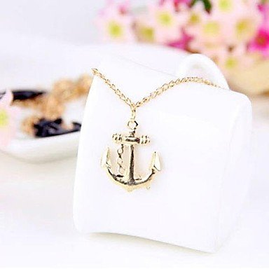European and American Style Anchors Simple Bracelet Gloden