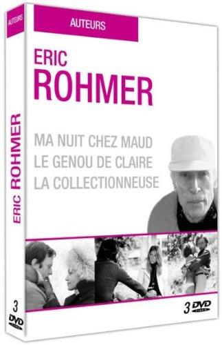 Eric Rohmer : Ma nuit chez Maud + Le genou de Claire + La collectionneuse [Francia] [DVD]