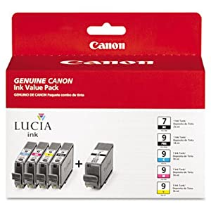 Canon Computer (supplies) Canon 1034b010aa Ink Cartridge - Black, Cyan, Magenta, Yellow, Photo Black (1034b010aa) -