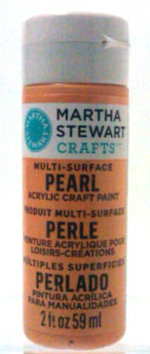 Martha Stewart 32966 2-Ounce Multi-Surface Pearl Acrylic Craft Paint, School Bus front-249640