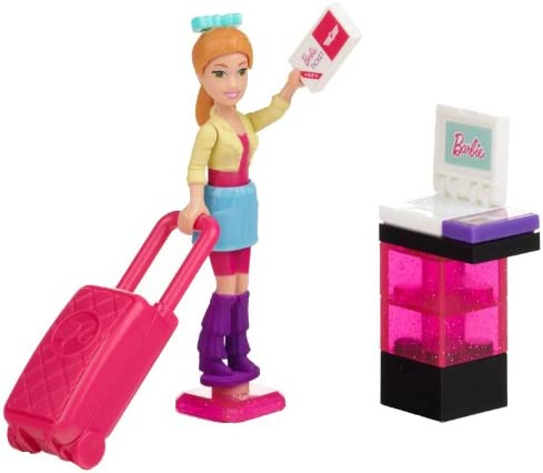 Mega Bloks Barbie Vacation Time